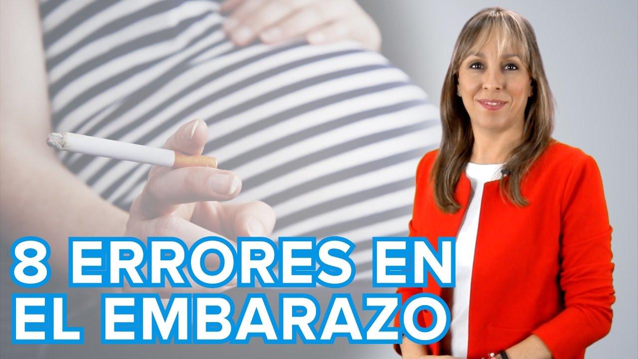8 errores a evitar en el embarazo