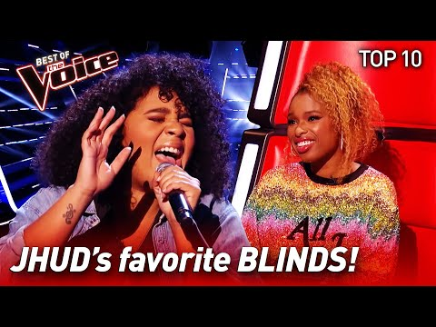 TOP 10JHUDs favorite Blinds EVER in The Voice