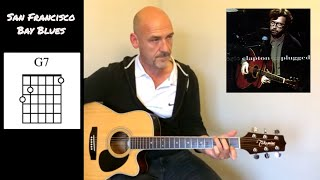 Guitar tutorial - San Francisco Bay Blues - by Joe Murphy