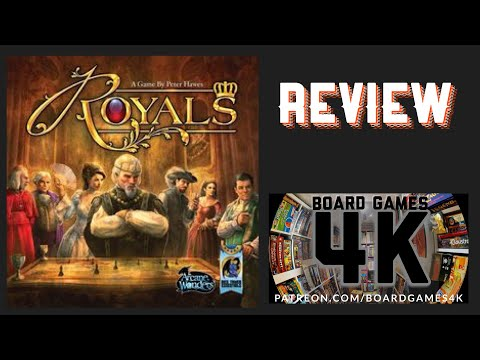 Royals Board Game - Quick Review