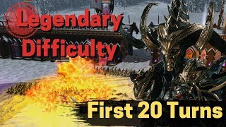 Warhammer II - Legendary 20 Turns Guide - Malekith