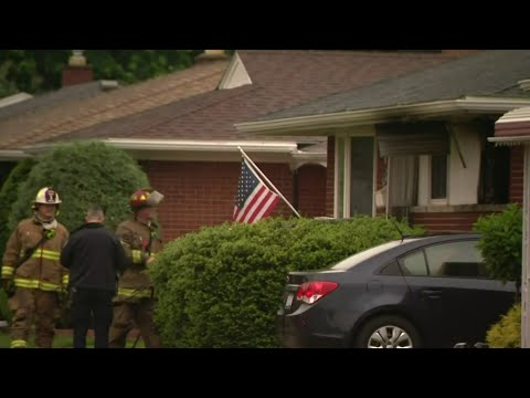2 bodies found inside burning Warren home, police say