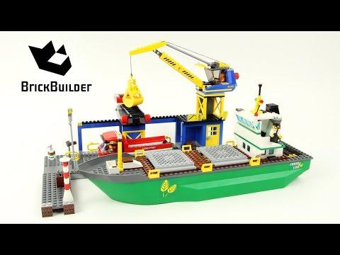 Vidéo LEGO City 4645 : Le port