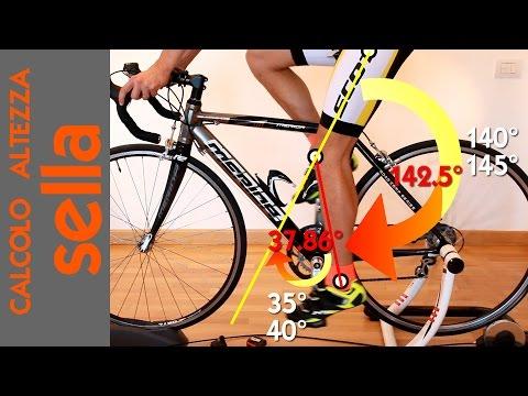 Ciclismo: l'altezza sella