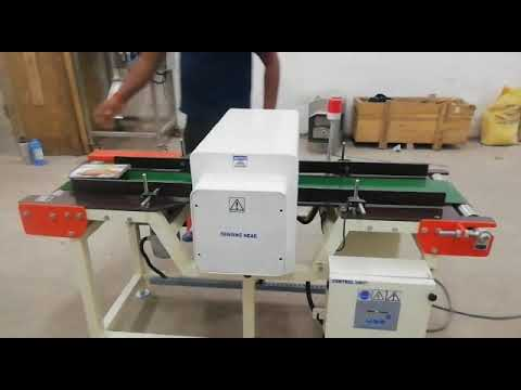 Industrial Packaging Metal Detector