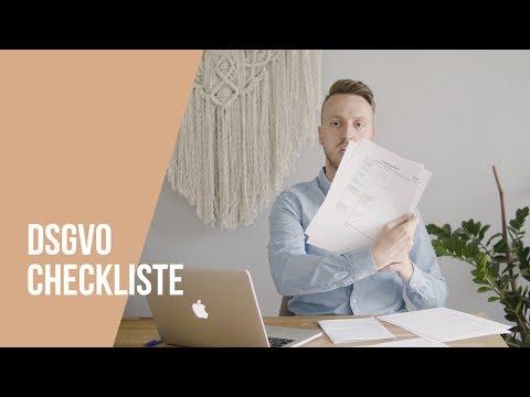DSGVO 📝 Einfach erklärt mit Checkliste für Umsetzung