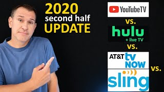 UPDATE: YouTube TV vs. Hulu vs. Sling vs. AT&T TV Now (Fubo and Philo and Vidgo, too) *2020 2nd Half