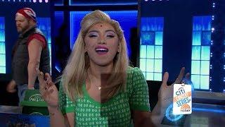 Stars Of Kinky Boots Perform On TODAY - Kirstin Maldonado