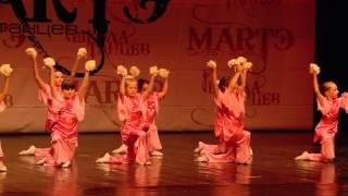 Детская хореографическая студия, отчетный концерт школы танцев МАРТЭ