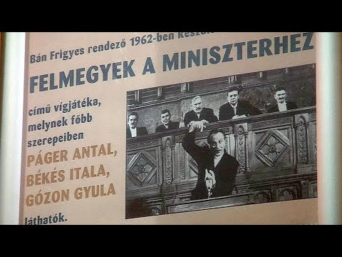 Filmvetítés a Tabánban - Felmegyek a miniszterhez - video preview image
