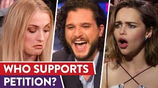 Game Of Thrones Actors React To Petition|⭐ OSSA Reactions
