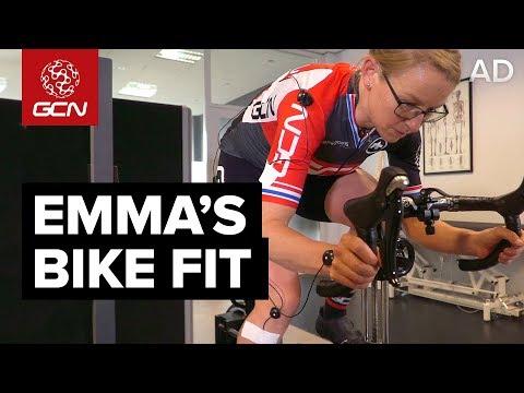 ... Show Ep 18 GCN Tech. play. Emma s Bike Fit Saddle Position Handlebar  Setup Pedalling Technique play d7c26f426