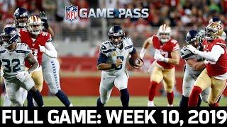 Russell Wilson Battles the NFL's Top Defense: Seahawks vs. 49ers Week 10, 2019 FULL Game