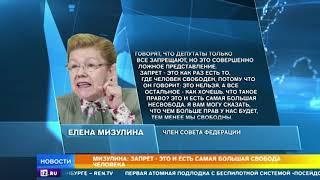 """Мизулина обратится в суд после публикации сообщений о запретах и """"несвободе"""""""