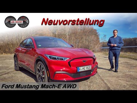 Ford Mustang Mach-E AWD (351PS / 580Nm / 88kWh Akku) - JA er ist ein Tesla Jäger!   Test - Review