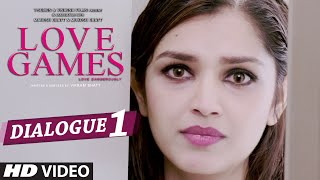 LOVE GAMES Movie Dialogue Promo 1 - Don't Ever Break My Heart  | T-Series