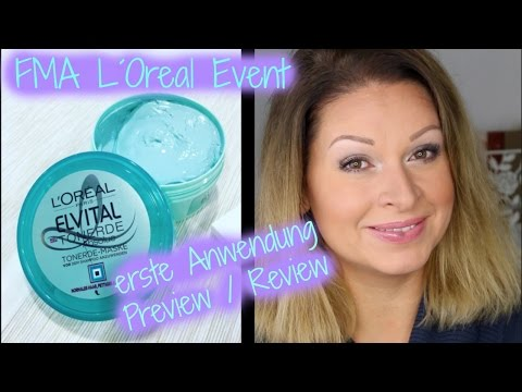 L´Oreal Event / Tonerde Absolue & erste Anwendung / Preview / Mamacobeauty