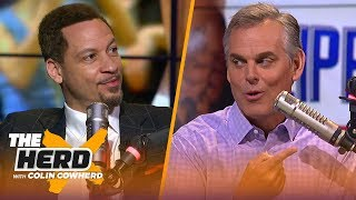 Chris Broussard on Kawhi signing with Clippers, talks Russell Westbrook's legacy | NBA | THE HERD