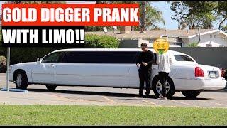 Limousine Gold Digger Prank | UDY Pranks 2017