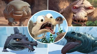 Ice Age: Scrat's Nutty Adventure - All Bosses