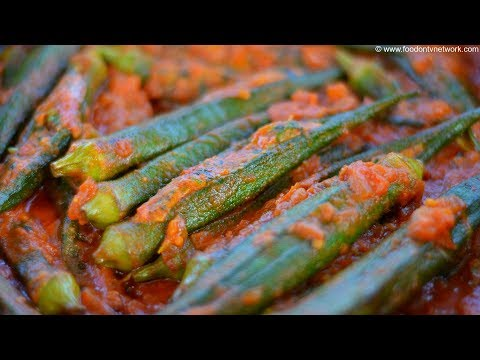 Bharwa Bhindi and Smoky Chilli Raita By Nikunj Vasoya | Indian Village Recipes