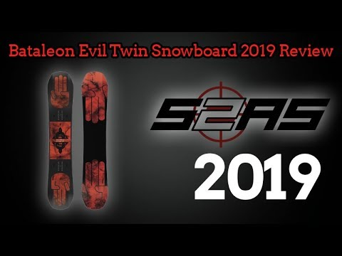Bataleon Evil Twin Snowboard 2019 Review