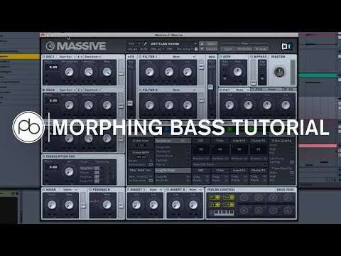 Creating a Morphing Bass in NI Massive