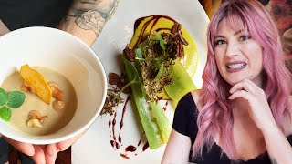 I Tried An All Vegan FINE DINING Restaurant with a Bumble Date