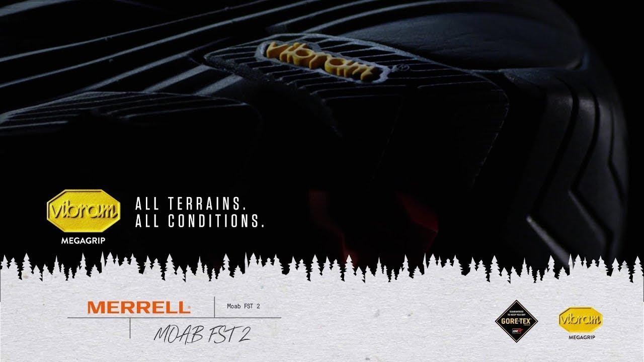 Merrell Moab FST 2 | Vibram Feature