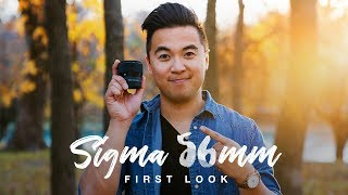Sigma 56mm 1.4 DC DN Lens Review - OH MY WOW!!