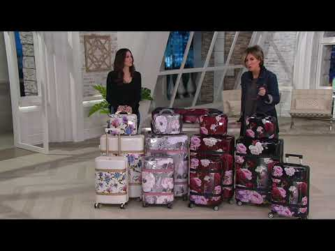 Triforce Luggage 3-Piece Hardside Set – Versailles on QVC