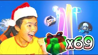 OPENING 69 WINTER WONDERLAND 2017 LOOT BOXES! | Overwatch NEW Christmas Event w/ LEXI