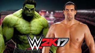 Hulk vs The Great Khali