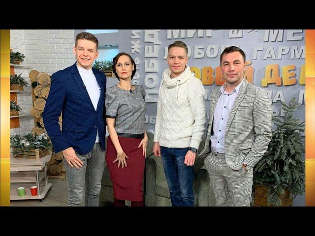 Гость программы «Новый день» Кирилл Шульгин
