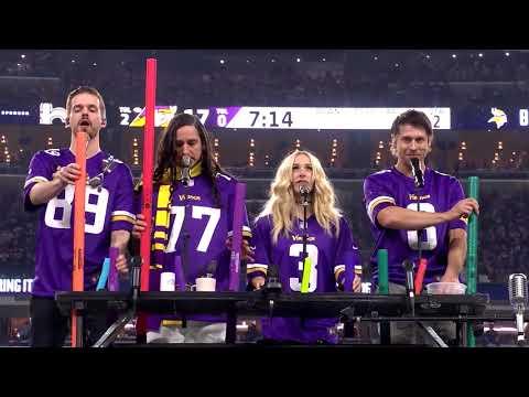 Walk Off The Earth - Halftime Vikings vs. Saints (NFL Playoffs '18)