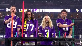 Walk Off The Earth - Halftime Vikings vs. Saints (NFL Playoffs '18)