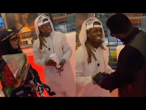 Lil Wayne Cant Believe He Ran Into Diddy At Teanna Taylor Birthday Party In Miami