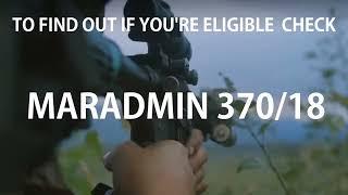 DFN:Reenlistment Bonus: MARADMIN 370/18 UNITED STATES 07.02.2018