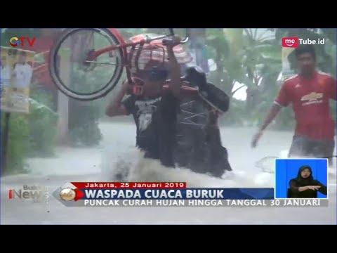 BMKG Prediksi Puncak Curah Hujan pada 30 Januari, Masyarakat Diimbau Berhati-hati - BIS 25/01