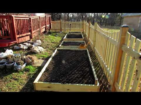 Your First Vegetable Garden?:  A Quick Over View of Raised Bed Gardens - Tips, Purpose & Design