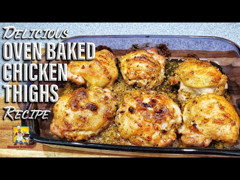Oven Baked Chicken Thighs Wit AB