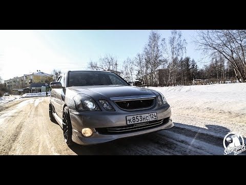 Валящий Универсал на V8  и Полном приводе!!! Toyota Mark2 BLIT