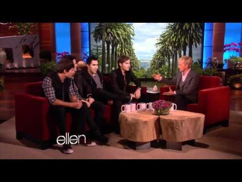 Big Time Rush on The Ellen Show
