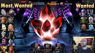 13 Lucky 5-Star Crystals | Marvel Contest of Champions