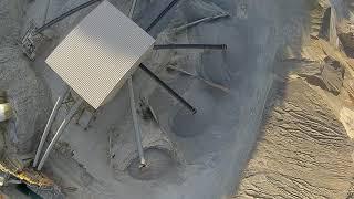 Dron FPV en la cantera / FPV drone in the quarry