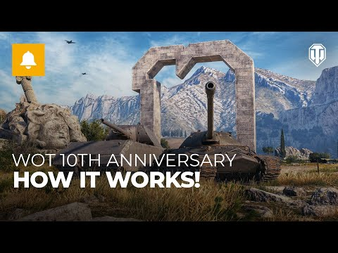World of Tanks 10th Anniversary: How it works!