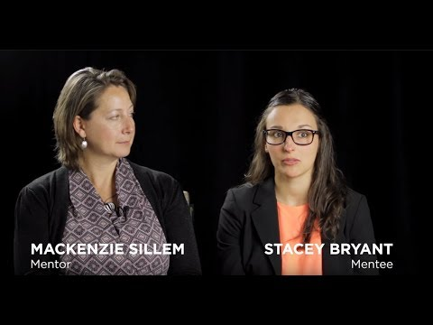 Mackenzie and Stacey share their mentorship experience.