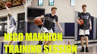 Nico Mannion | Training Session @ VBA