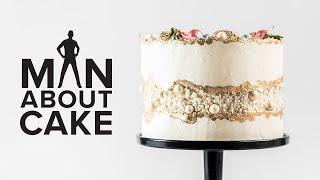 JJR's Fancy Fault Line Wedding Cake | Man About Cake
