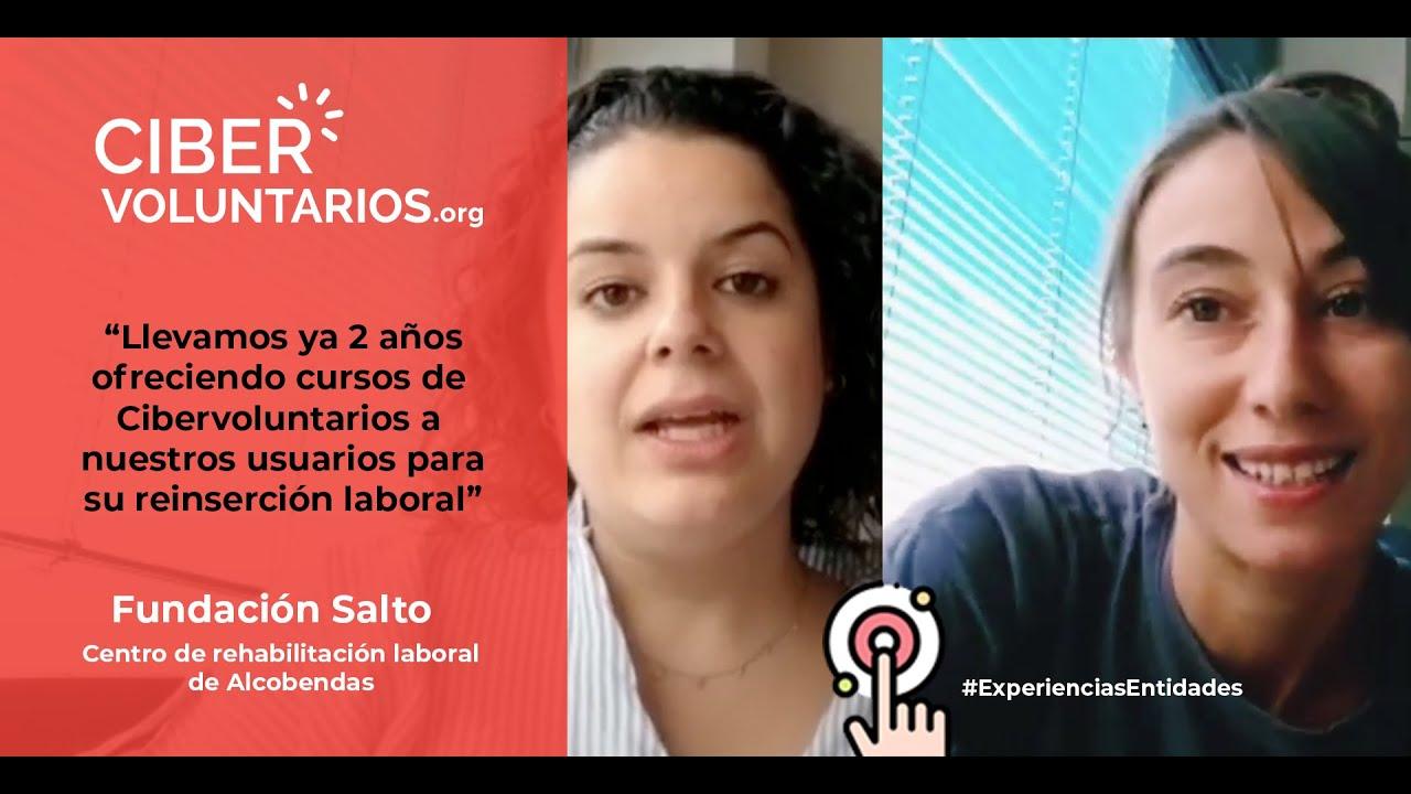 Fundación Cibervoluntarios y Fundación Salto juntos a favor de las personas con enfermedad mental